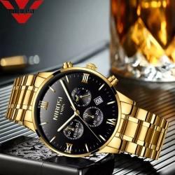 https://www.himelshop.com/ NIBOSI Fashion Men Watches Luxury Business Quartz Watch Men Sport Watch Metal Waterproof