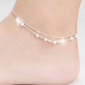 https://www.himelshop.com/1 piece little star women ANKEL Bracelets
