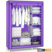 https://www.himelshop.com/Portable Almirah and Folding Cloth Storage wardrobe 2 Layer