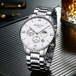 https://www.himelshop.com/NIBOSI Men's Watches Luxury Fashion Casual Dress Chronograph Waterproof