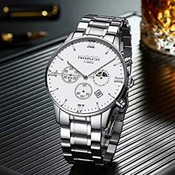 https://www.himelshop.com/NIBOSI Men's Watches Luxury Fashion Casual Dress Chronograph Waterproof