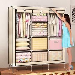 https://www.himelshop.com/Fabric Storage Wardrobe Cloth Stand 3 part