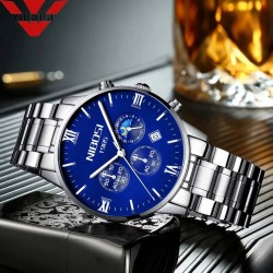 https://www.himelshop.com/ NIBOSI Blue Watch Men