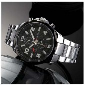 https://www.himelshop.com/CURREN Mens Stainless Steel Watch with Date Display