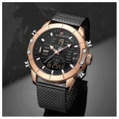 https://www.himelshop.com/NIBOSI Solid Stainless Steel Mens Waterproof Watch