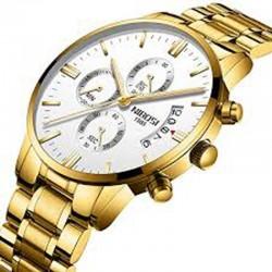 https://www.himelshop.com/NIBOSI Mens Chronograph Quartz Wristwatch Golden