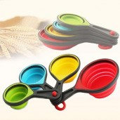 https://www.himelshop.com/4 Pcs Silicone Measuring Spoons, Portable Tablespoons Measuring Set