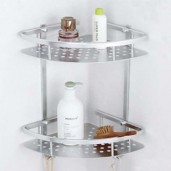 https://www.himelshop.com/Aluminium Bathroom Storage 2 Layer