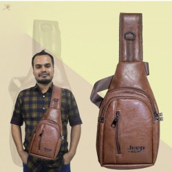 https://www.himelshop.com/ Artificial Leather Backpack For Man
