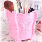 https://www.himelshop.com/Beautiful Embossed With-Butterfly Acrylic Makeup Cosmetic Storage