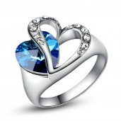 https://www.himelshop.com/Blue Heart Finger Ring