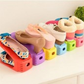 https://www.himelshop.com/4 Pieces Creative Shoe Slots Space Saver Organizer Double Shoe Rack Storage