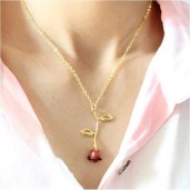 https://www.himelshop.com/Exquisite red rose pendant Necklaces For Women