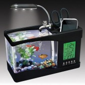 https://www.himelshop.com/USB Desktop Aquarium with digital clock