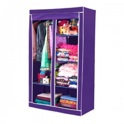 https://www.himelshop.com/Fabric Wardrobe Portable And Folding For Clothes Storage 2 Leyer