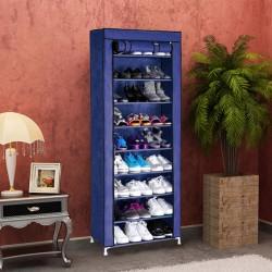 https://www.himelshop.com/9-Layer 40-Pair Large Shoe Rack Shoe Storage Organizer Cabinet Tower -Blue Color