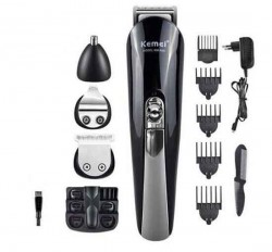 https://www.himelshop.com/Kemei KM-500 Electric Shaver 8 in 1 Rechargeable Hair Trimmer Clipper
