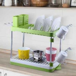https://www.himelshop.com/Sakkara Dish Rack 2 Tier By Stories